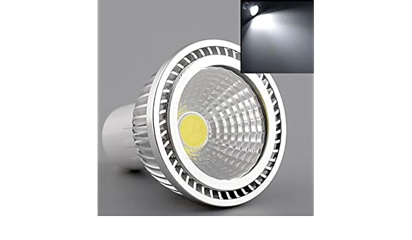 HJLHYL MND Focos Bestlighting PAR GU10 5 W 1 COB 450 LM K Blanco C¨¢lido/Blanco Fresco/Blanco Natural AC 85-265 V 1 pieza, cool white - - Amazon.com