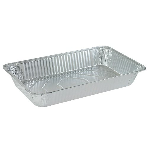 Nicole Home Collection 00519 Aluminum Deep Pan, Full Size (Pack of 50)