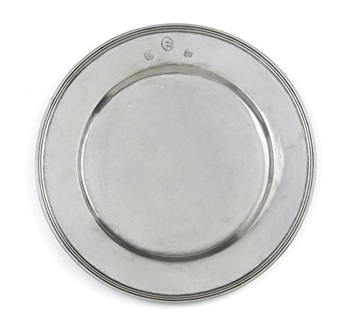 Arte Italica Peltro Charger Plate, - Charger Pewter