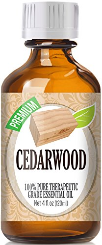 Best Cedarwood Oil - 100% Pure Cedarwood Essential Oil - 120ml