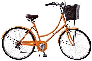 Ammaco Classique - Bicicleta clásica para mujeres con ruedas 26 ...