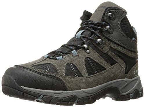 Hi-Tec Men's Altitude Lite I Waterproof Hiking Boot, Gull Grey/Black/Goblin Blue, 9 D US