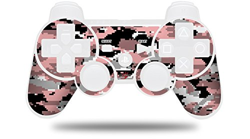 WraptorCamo Digital Camo Pink - Decal Style Skin fits Sony PS3 Controller (CONTROLLER NOT INCLUDED)
