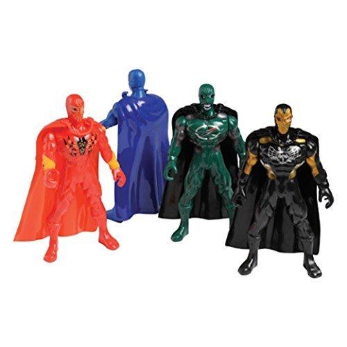 U.S. Toy Lot of 4 Assorted Super Hero Action Figures