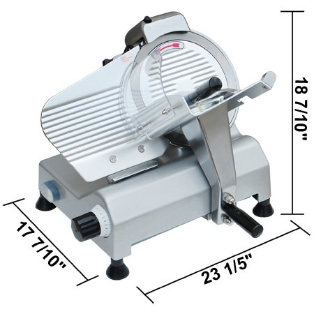 10'' Slicing Machine for Meat/food (Electric) by GC Global Direct