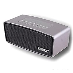 AUDIOBOX Bluetooth Speaker P5000 Great Portability MicroSD USB Ports USB Charging (Black)