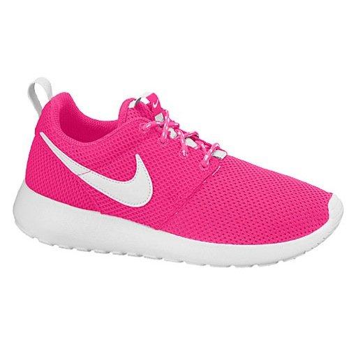 Nike Girls Roshe Run Sneakers Casual Dal Traguardo