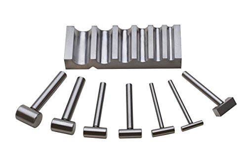 Grooved Block (Metal Grooved Block and Hammers, 7 Piece Set | DAP-435.00)