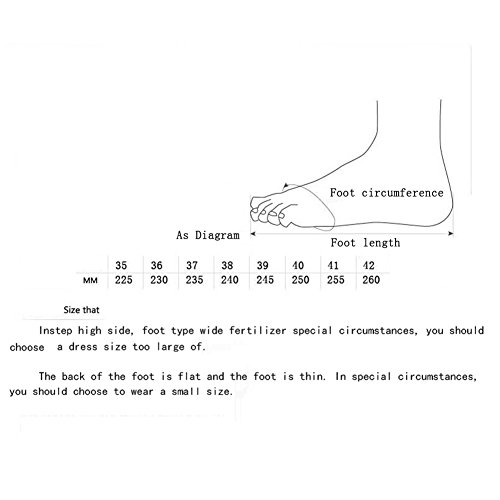 Zapatos Desgaste Mujer Resistentes Zapatos Color o de Azul Mujeres Marea de Cuero Casuales de de 2018 Zapatos tama Orificios Verano 35 Zapatos Zapatos con para Zapatos al Guisantes 65aPHwq