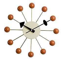 MLF Nelson Ball Clock in Orange, Designed by George Nelson(Full Range Available)