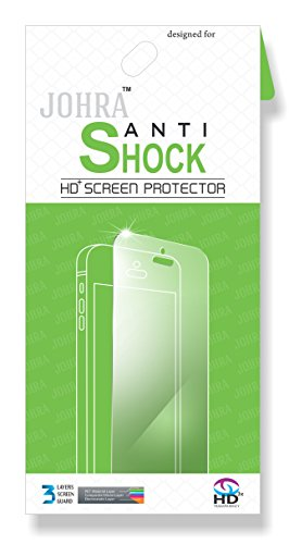 Johra 0.2mm Unbreakable   Anti Shock Impossible Glass Screen Protector for Moto C Plus Screen Guard