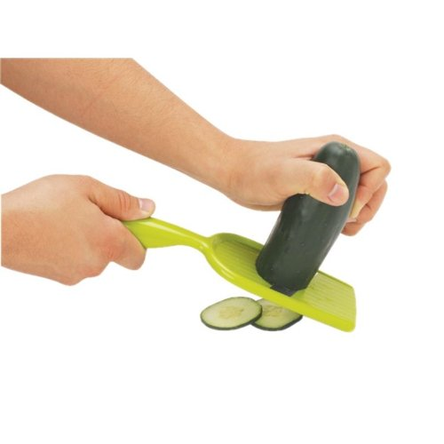 Joie Hand-Held Mandoline Slicer with Guard for Right or Left (Hand Held Mandoline)