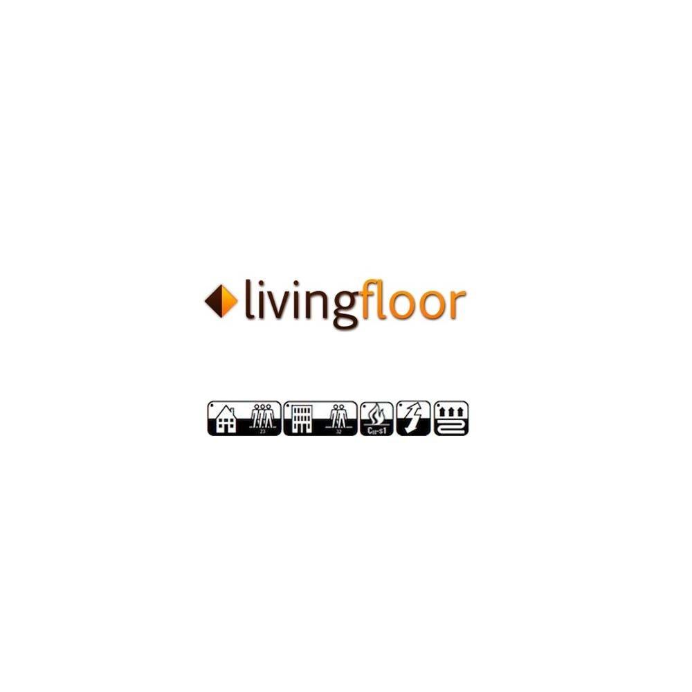 L/änge variabel Meterware Gr/ö/ße:12.00x2.00 m livingfloor/® PVC Bodenbelag Shabby Retro Fliesenoptik Mediterran Natural 2m Breite