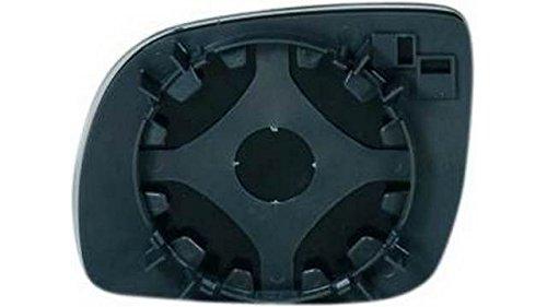 Ricambio cristallo specchietto retrovisore con base Destro IPARLUX