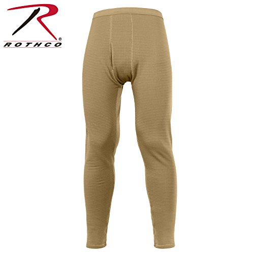 Rothco Military E.C.W.C.S. Generation III Mid-Weight Bottoms, M, Coyote Brown