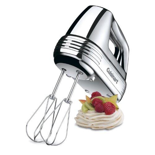 Cuisinart 7-Speed Hand Mixer, Brushed Chrome