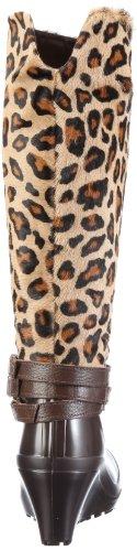 Nat 2 Leopard Anim Women's Dunkelbraun Boots Black wSSR4Oq