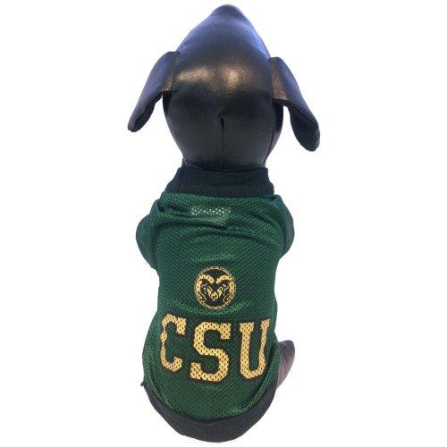 NCAA Colorado State Rams Athletic Mesh Dog Jersey (Team Color, Medium)