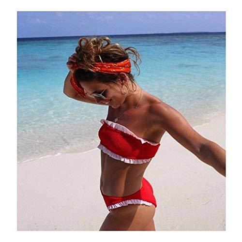 Bikini Il Agaric Gules S Split Nuovo colore Qiusa Dimensione Reggiseno XqfxSdwxt