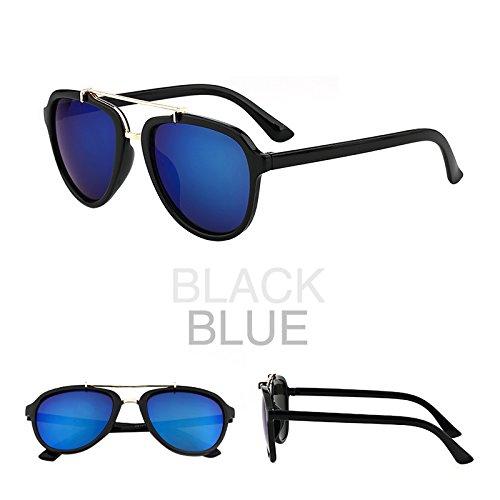lunettes de soleil une dame a le visage rond korean rétro - yeux star des lunettes des lunettes de soleil les marées nouveau cycle.boîte noire (sac) grey film gIBFGrQ