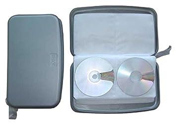CD bolsa de plástico plata para guardar 80 CD, DVD o Blu-ray ...