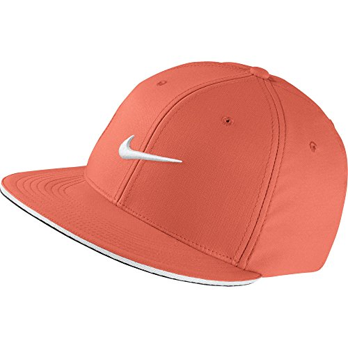 Nike Golf- True Tour Fitted Cap, Turf Orange, - Fitted True Cap