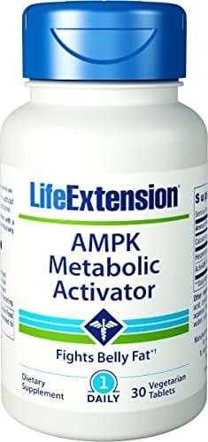 Life Extension AMPK Metabolic Activator 30 vegetarian tablets - 3 Pack