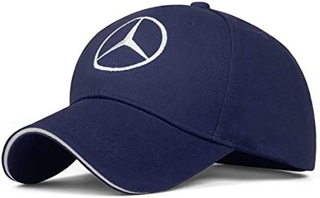 Pink JDclubs Benz Logo Embroidered Adjustable Baseball Caps for Men and Women Hat Travel Cap Car Racing Motor Hat