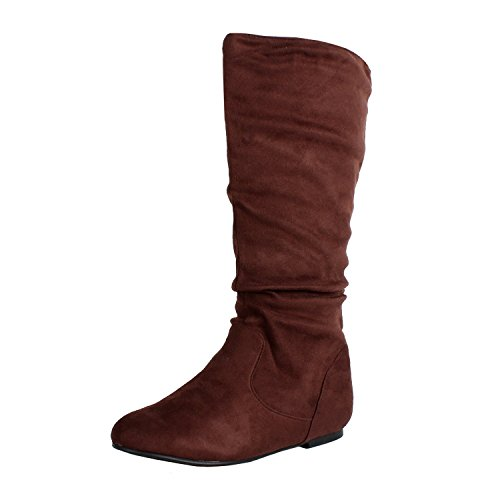 West Saigon Slouch Brown Suede product image