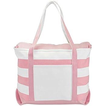 ebb055185e Amazon.com  DALIX Women s Cotton Canvas Tote Bag Large Shoulder Bags ...
