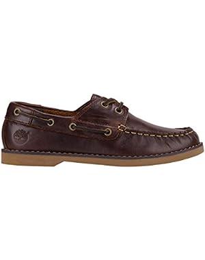 Infants, Children's And Juniors Brown Boat Shoe
