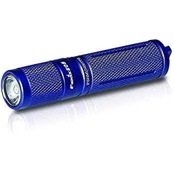 Fenix Flashlights E05 85 Lumens Flashlight, Blue