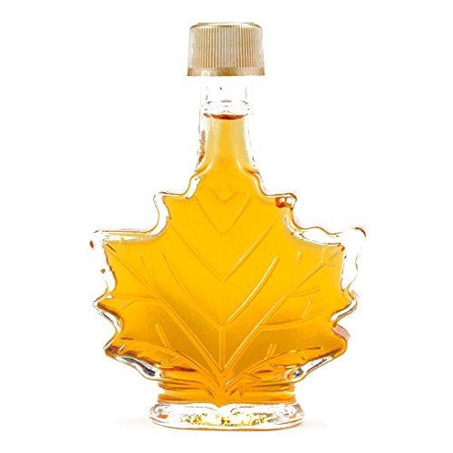 Mini Maple Leaf Syrup Bottle 1.7 oz each (1 Item Per (Maple Leaf Bottle)