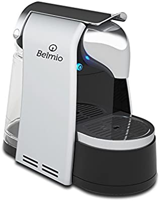 BELMIO Bellot Bello cafetera eléctrica plástico Titanio<BR/> 36 x 18,5 x 30 cm: Amazon.es: Hogar