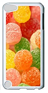iPod Touch 5 Cases & Covers - Delicious Candy Custom PC Soft Case Cover Protector for iPod Touch 5 - White