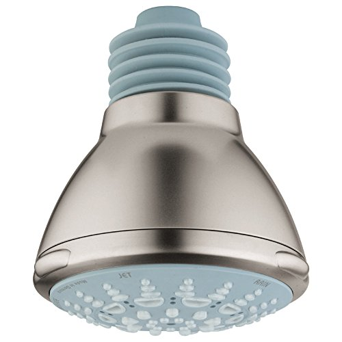 Relexa Ultra 100 5-Spray Raincan Showerhead - Grohe Relexa Head Shower