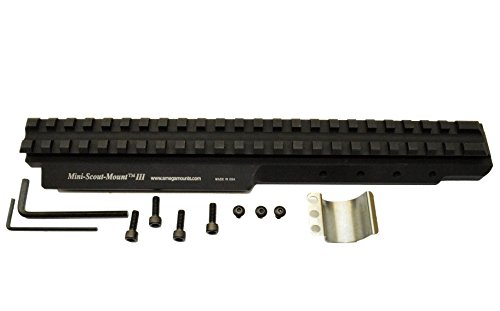 Mini 14, Mini 30, 6.8 SPC Scout Mount for 580+ Series Rifles (Black Anodized)