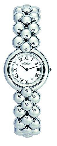 Michel Herbelin 17070-B01 Ladies Chic Silver Steel Bracelet Watch