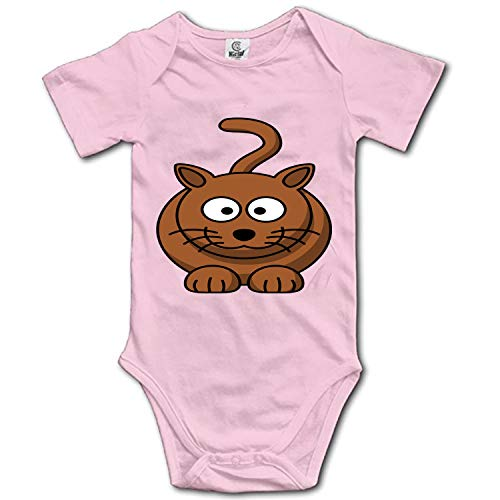 Fat Cat Short Sleeve Infant Baby Girl Clothes Onesies Bodysuit Romper Jumpsuit Unisex -