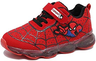 ROKIDS Toddler Spiderman Light Sneaker