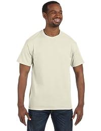 mens Heavy Cotton 5.3 oz. T-Shirt(G500)-NATURAL-3XL