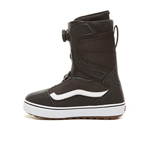 Vans Aura OG Men's Snowboard Boots, Black/White, 2019 (10 D US) ()