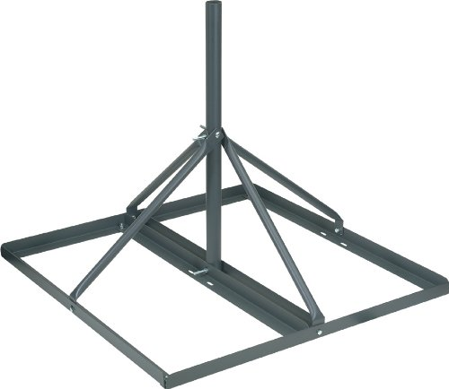 VMP FRM-200 Non-Penetrating Roof Mount (30-Inch long 2-Inch OD mast, Grey)