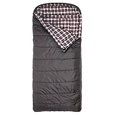TETON Sports Fahrenheit Regular 0F Sleeping Bag; 0 Degree Sleeping Bag Great for Cold Weather Camping; Grey, Left Zip
