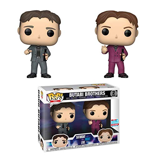 Funko Pop! Saturday Night Live Butabi Brothers Fall Convention Exclusive 2 Pack