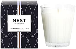 NEST Fragrances Classic Candle- Cedar Leaf & Lavendar , 8.1 oz