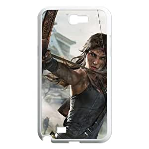 HXYHTY Tomb Raider Phone Case For Samsung Galaxy Note 2 N7100 [Pattern-3]