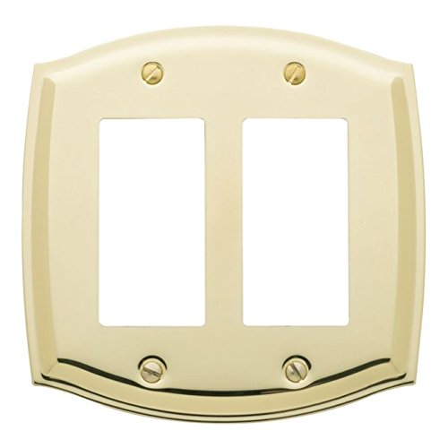 4787 030 Switch Plate Colonial - Double Gfci