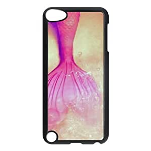 FEEL.Q- Protective Plastic Back Case for iPod Touch 5 (5th Generation) - Beauty Mermaid