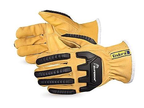 54e23f3b4918 Endura® Oilbloc™ Goatskin Kevlar®-Lined Anti-Impact Driver Gloves-  378GKGVBM  Amazon.ca  Tools   Home Improvement